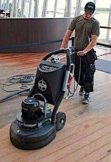Broušení a renovace sportovních podlah