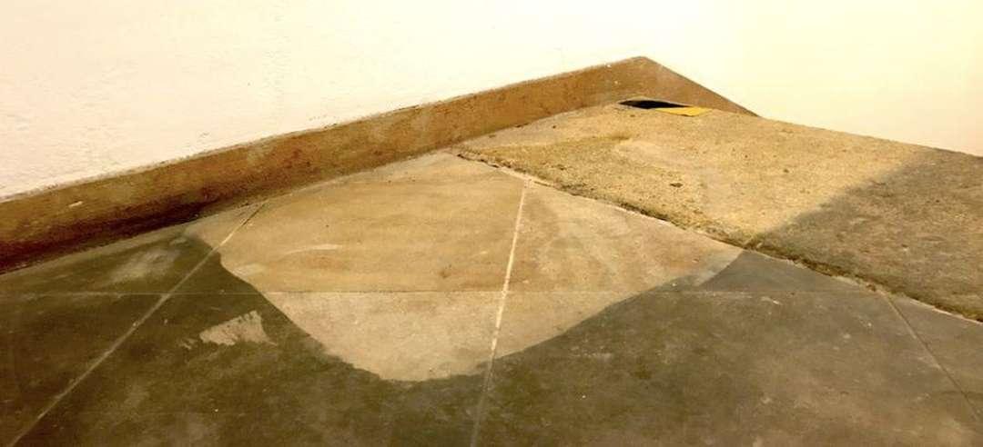 Čištění pískovcových podlah