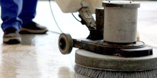 Čištění teracových podlah