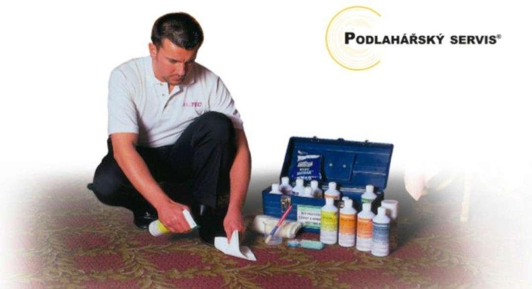 Impregnace a desinfekce koberců