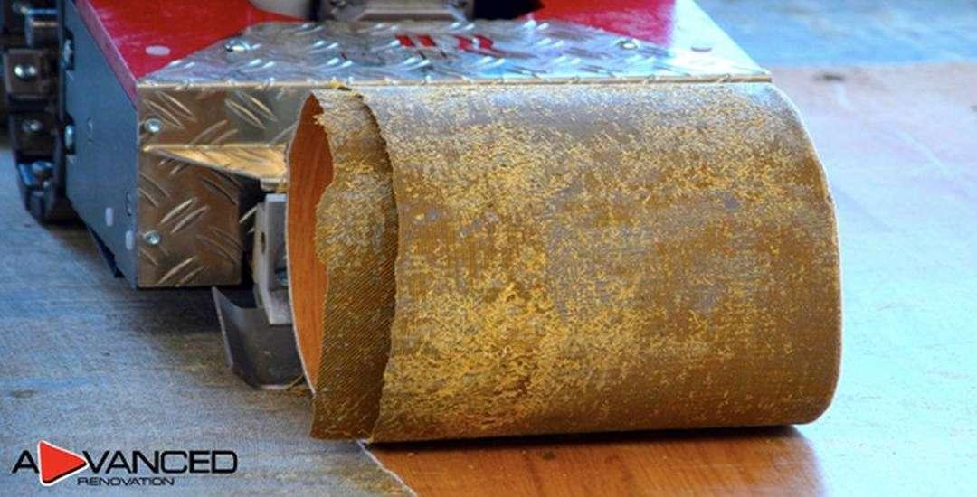Odstranění a stržení lina a PVC