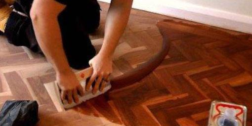Olejování dřevěných podlah