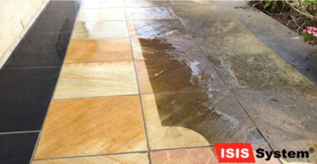 Renovace a broušení pískovcových podlah