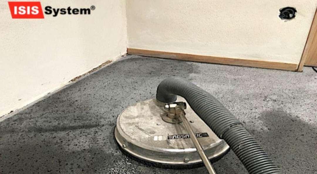 Renovace a broušení teracových podlah