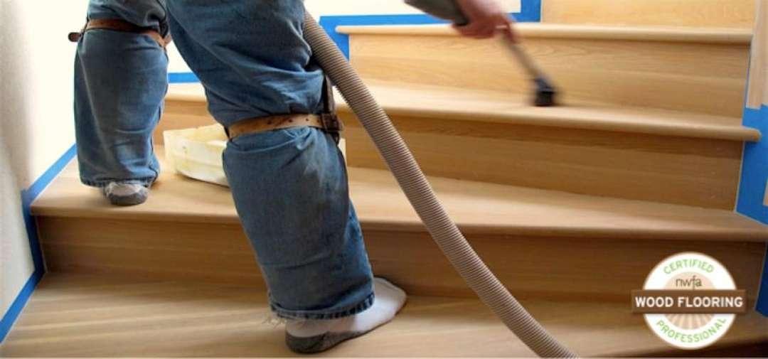 Renovace dřevěných schodů